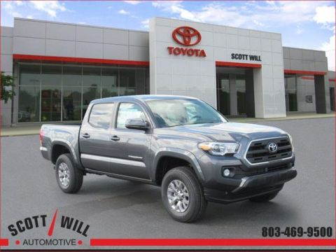 New 2017 Toyota Tacoma SR5 4D Double Cab