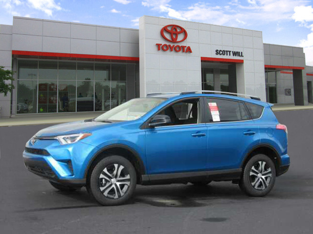 new 2017 toyota rav4 le fwd suv in sumter t8349 scott will toyota. Black Bedroom Furniture Sets. Home Design Ideas